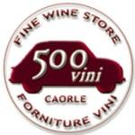 logo 500VINI Caorle, vinoteca a Caorle, Venezia, vendita vino on line