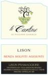 Le Carline: Lison Classico no solfiti aggiunti, da agricoltura biologica