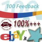 Ebay: arriva la stella turchese per i 100 feedback positivi