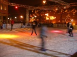 Ice-skating in Caorle for Christmas 2008