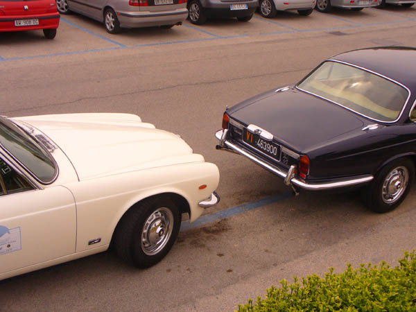 raduno auto storiche a caorle: jaguar
