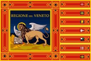 Venezia e stemma Regione Veneto