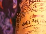 Amarone, tipica etichetta del grande vino veneto