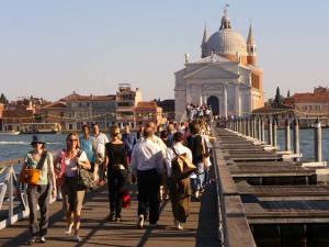 Il Ponte provvisorio per il Redentore a Venezia