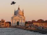 Tramonto sul Redentore a Venezia