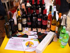 vendita vini a Ciclomundi 2008, Portogruaro