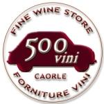 logo 500VINI Enoteca a Caorle, vendita vini on line