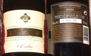 Carline Rosso Riserva 2003: vino biologico premiato con Medaglia d'Oro al Biofach 2009