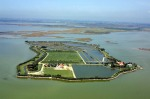 Isola Santa Cristina nella Laguna di Venezia