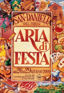 locandina Aria di Festa 2009 San Daniele