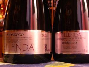 Bellenda Prosecco Brut DOC Conegliano Valdobbiadene: dettaglio etichetta