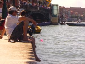 Regata a Venezia: tra una gara e l'altra