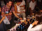 Street wine tasting in Caorle, Venice