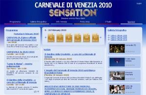 Sito Carnevale Venezia 2010