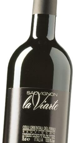 La Viarte Sauvignon D.O.C. Colli Orientali del Friuli, Prepotto, Vini tipici, Udine, Friuli Venezia Giulia