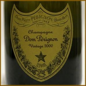 Champagne Dom Pérignon 2000