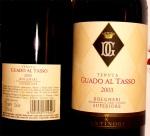 Guado al Tasso 2003, 0,75 lt, Antinori Supertuscan