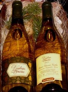Jermann Vintage Tunina 2005, da uve Sauvignon, Chardonnay, Ribolla Gialla, Malvasia Istriana e Picolit