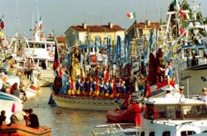 Processione in mare dell Madonna dell'Angelo a Caorle
