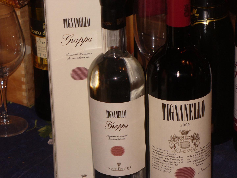 Tignanello 2006 e Grappa di Tignanello: regalo di gran classe!!!