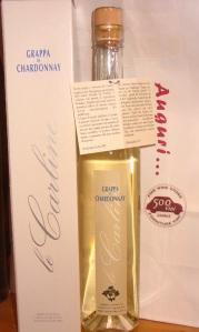 Grappa di Chardonnay, da agricoltura biologica