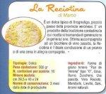 Pan de Verona: La Reciotina, specialità gastronomiche tipiche