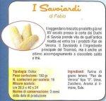 Pan de Verona: I Savoiardi, specialità gastronomiche tipiche