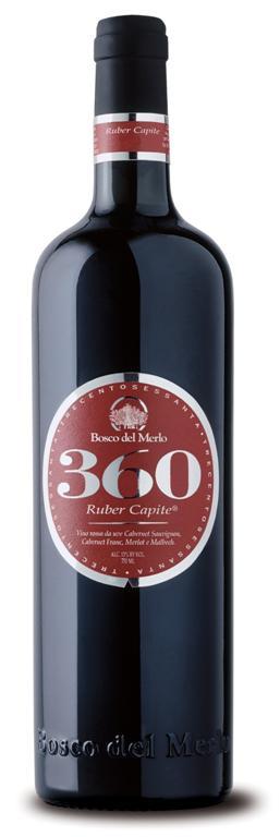 Bosco del Merlo 360 Ruber Capite Delle Venezie I.G.T. ~ Rosso