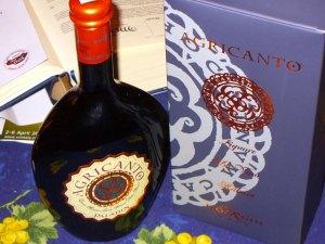 Agricanto, liquore da vino raboso, ciliegia e mandorle, Paladin
