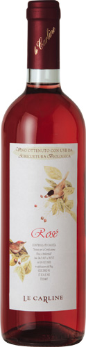 Rose' IGT Veneto Orientale, Venezia, vino biologico, vino merlot frizzante,