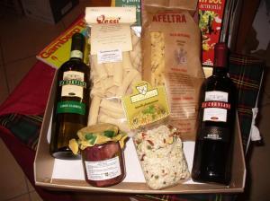 pasta di gragnano, riso carnaroli, vino rosso doc, vino bianco docg, radicchio treviso igp