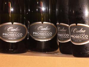 Prosecco Spumante Extra Dry DOC, uve biologiche da Valdobbiadene