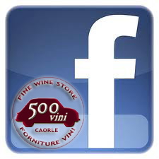 facebook logo, 500vini, vendita vino on line