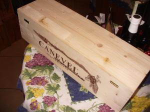 Prosecco Extra Dry Canevel in cassa legno, Jéroboam Prosecco