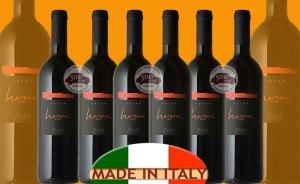 Offerta speciale vino dalla Sicilia: Avide Herea Syrah 2009, 6 bottiglie, no spese di spedizione