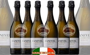 Canevel Prosecco Valdobbiadene Extra Dry, Spumante Italiano. Natale 2011: Offerta speciale 6 Bottiglie
