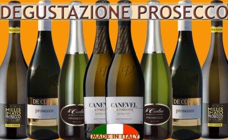 Offerta degustazione Prosecco: 4 produttori a confronto, idea regalo!