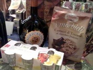 Last minute regali Feste Natale, San Silvestro, Capodanno, Epifania: Agricanto + 6 bicchieri + biscotti
