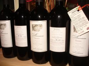 Ammiana, vino rosso biologico, laguna venezia, sapido