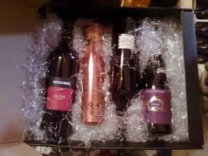 Ultim'ora regali Natale 2011: set mini degustazione vini e grappa