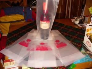 Borsa per bottiglia vino
