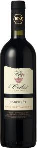 Cabernet DOC senza solfiti aggiunti, by Le Carline, vini biologici
