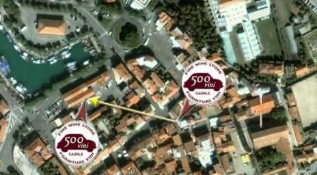 500VINI Caorle, Piazza Mercato 7, 30021 Caorle, Venezia