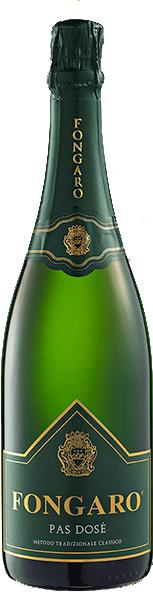 "Fongaro Durello ""Etichetta Verde"" Metodo Classico Pas Dosé, vino biologico."