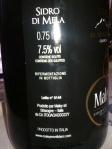 Sidro di Mela rifermentato in bottiglia: Cidre du Mont Blanc.