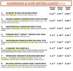 vini metodo classico in mescita da 500VINI Caorle