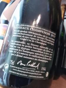"BRUNO PAILLARD ""LE MESNIL 2013"" VIN BLANC DES COTEAUX CHAMPENOIS"