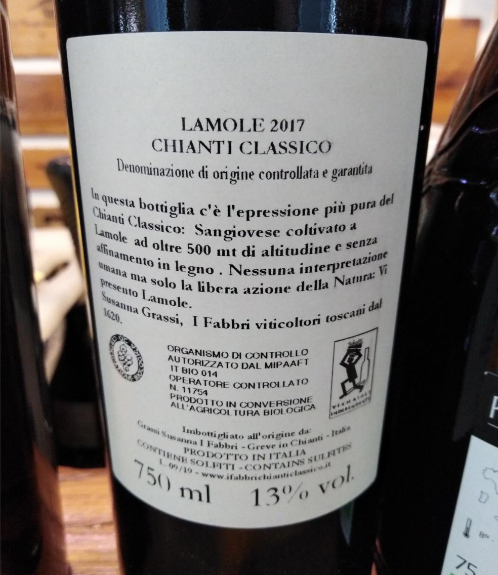 i fabbri chianti classico LAMOLE 2